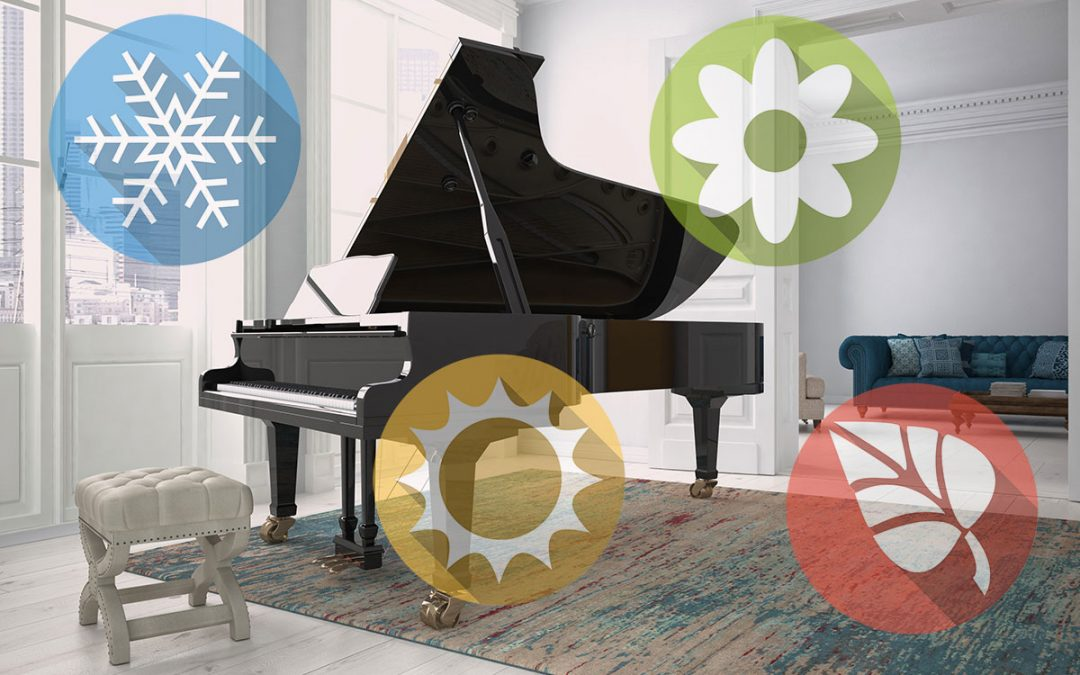 How weather affects your piano